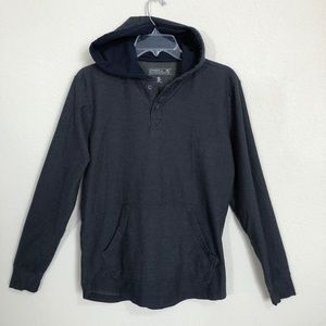 O'Neill Navy Long Sleeve Pullover Hoodie